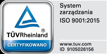 Certyfikat zarządzania ISO 9001:2015